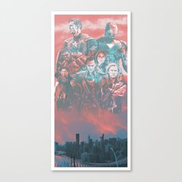 Avenger (2012) Alternative Movie Poster Canvas Print
