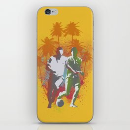 Football is passion iPhone Skin
