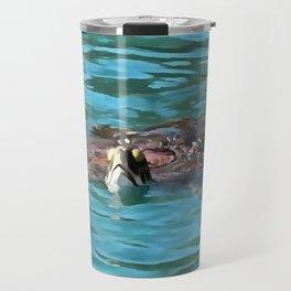 Loggerhead Sea Turtle Travel Mug