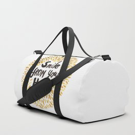 Smile From Your Heart Duffle Bag