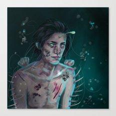 I'm rotting alone  Canvas Print