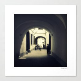 Stroll Under the Beautiful Arches in Prague Canvas Print