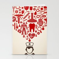 doctor Stationery Cards featuring Doctor by aleksander1