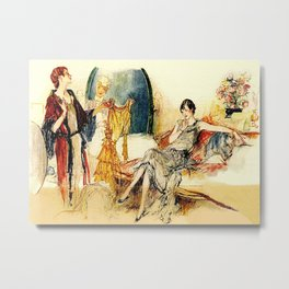 Ladies of Leisure Metal Print