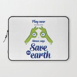 Simon says... Save the earth Laptop Sleeve