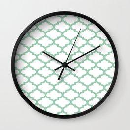 Hemlock Qua Trefoil Wall Clock