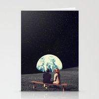 Stationery Cards featuring We Used To Live There  by Frank Moth