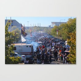 Bears South Lot Tailgate Canvas Print