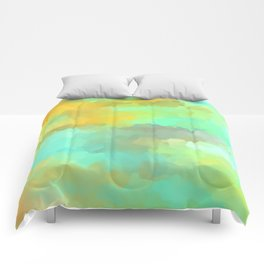 Sunset Water Comforters
