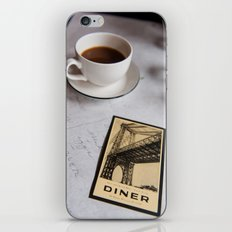 New York Diner iPhone & iPod Skin