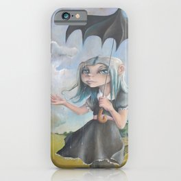 Z imagination Melancholy, Waiting for the Storm to Pass iPhone Case