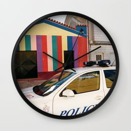 Not a Crime Wall Clock