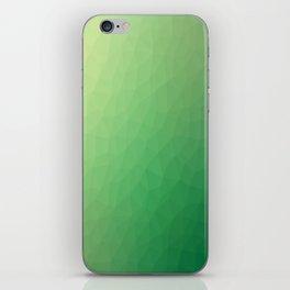 Green flakes. Copos verdes. Flocons verts. Grüne Flocken. Зеленые хлопья. iPhone Skin
