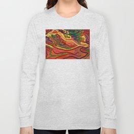 Night Signals 4 Long Sleeve T-shirt