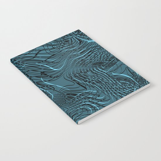 Just Crazy Blue Notebook