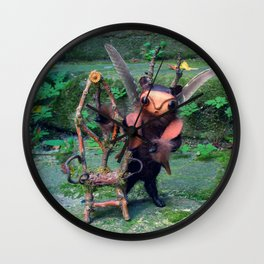 Pixie Shapeshifter  Wall Clock