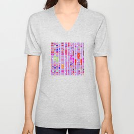 Color Square 11 Unisex V-Neck