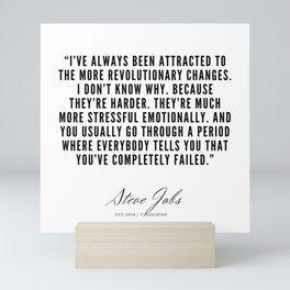 31      Steve Jobs Quotes   190720 Mini Art Print