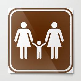 "Urban Picotgrams ""Family Women"" Metal Print"
