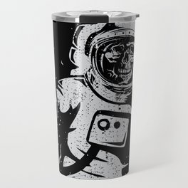 BOO !! Astronaut Skeleton Science Shirts Travel Mug