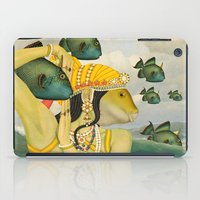 mermaid iPad Cases featuring MERMAID by Julia Lillard Art