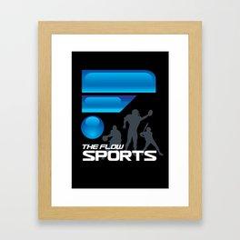 The Flow Sports Radio Framed Art Print