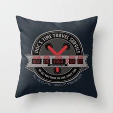 Outatime Throw Pillow