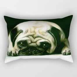 PUG POWER OUTAGE Rectangular Pillow