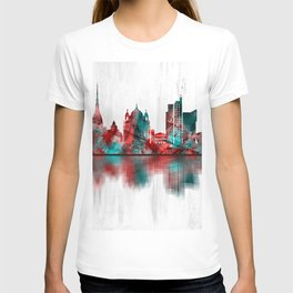 Turin Italy Skyline T-shirt