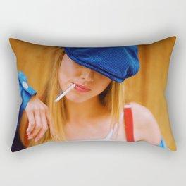 Hey, you ;-) Rectangular Pillow