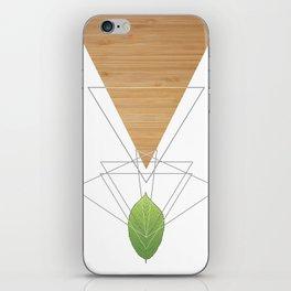 Geometric Leaf iPhone Skin