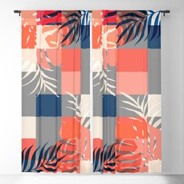 Tropical Puzzle #society6 #decor #buyart Blackout Curtain