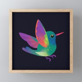 Hummingbird Framed Mini Art Print