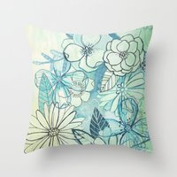 Floralista Throw Pillow