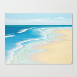 Faraway Summer Thoughts Canvas Print
