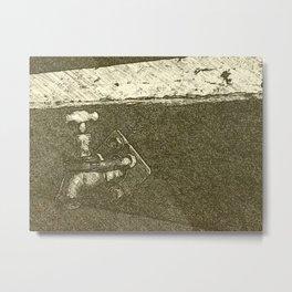 Old Tap Metal Print
