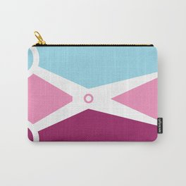 Pop Art Scissors Carry-All Pouch