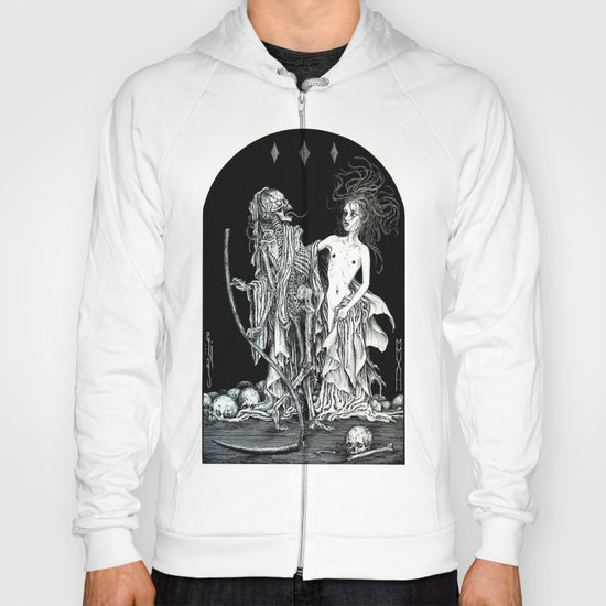 Death and the Maiden I Hoody