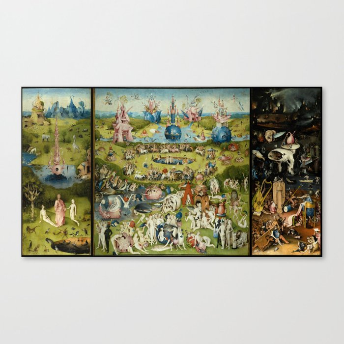 Hieronymus Bosch The Garden Of Earthly Delights Leinwanddruck