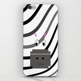 Zane the Zebra iPhone Skin