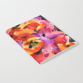 Poppies for Fun Notebook