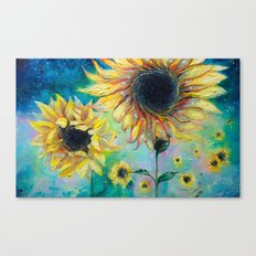 Supermassive Sunflowers Canvas Print