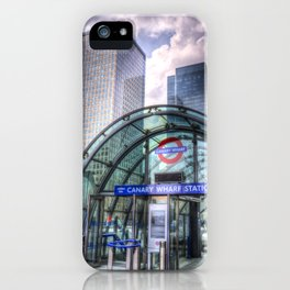 London Tube Station iPhone Case