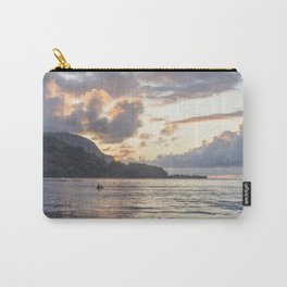 Sunset at Hanalei Bay, No. 3 Carry-All Pouch