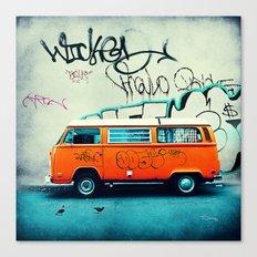 VW Van Canvas Print