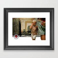 HIDE// Framed Art Print