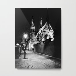 Nocturne Photograph - Prague, 5. Metal Print