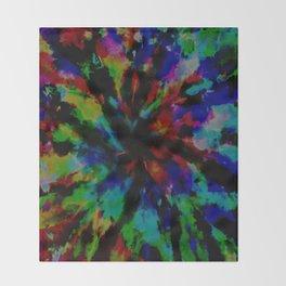 Tie-Dye #7 Throw Blanket