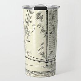 Sailboat-1938 Travel Mug