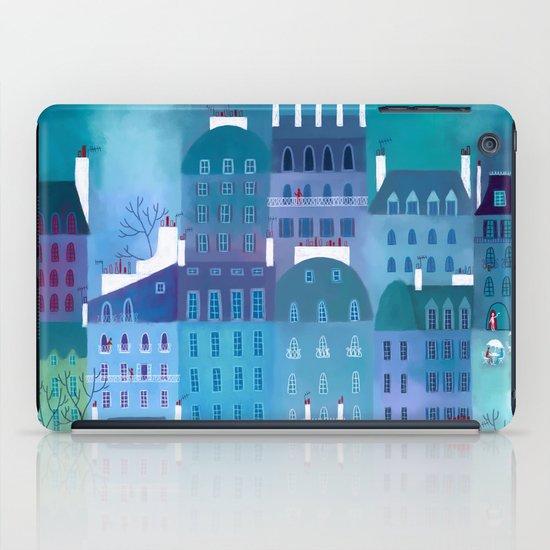 Paris Blues iPad Case